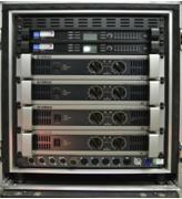 Arc Sound Hire 12U Yamaha/Lake Amplifier Rack