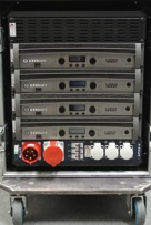 Arc Sound Hire 12U Crown I-TechHD Amplifier Rack