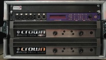 Arc Sound Hire 6U Crown Amplifier Rack