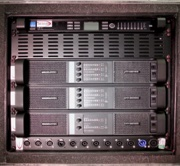 Arc Sound Hire 10U Lab Gruppen FP+ Amplifier Rack