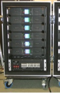 Arc Sound Hire 16U Lab Gruppen PLM Amplifier Rack Type 1